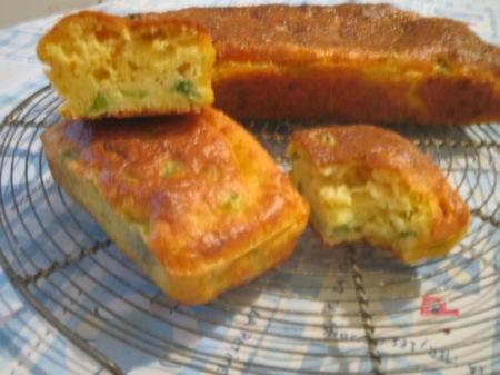 cake poivron & chorizo