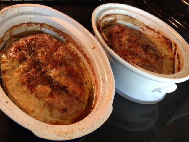 Terrine de lapin cuite & chaude