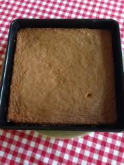 Gâteau fondant & imbibé à l'orange1