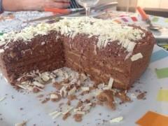 Gâteau Petit  Brun